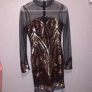 Super Cute Fashion Nova Dress!